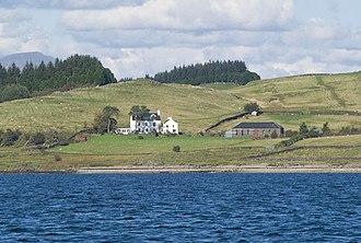 Description of the Western Isles of Scotland - The farm on Shuna