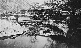 Kyongsong County - Chuul Hot spring during Korea under Japanese rule's period