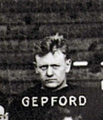 Sid Gepford - Image: Sid Gepford