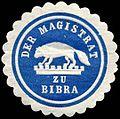 Siegelmarke Der Magistrat zu Bibra W0234943.jpg