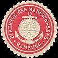 Siegelmarke Direktor des Marinewesens Hamburg W0309623.jpg