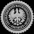Siegelmarke Königlich Vereinigte Maschinenbauschulen - Dortmund W0255906.jpg