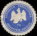 Siegelmarke K.Pr. Infanterie-Brigade 79. W0283720.jpg