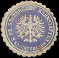 Siegelmarke K.Pr. Standesamt Hahnstätten Kreis Unterlahn W0345948.jpg