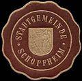 Siegelmarke Stadtgemeinde Schopfheim W0309964.jpg
