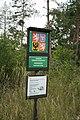 Sign of National natural reserve Mohelenská hadcová step near Mohelno, Třebíč District.jpg
