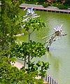 Singapore, Gardens by the bay, Dragon flies - panoramio.jpg