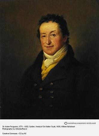 Adam Ferguson (British Army officer) - Image: Sir Adam Ferguson 1830 by William Nicholson