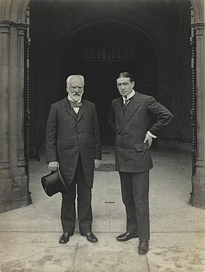 Edwin Pears - Image: Sir Edwin Pears and Sir Ernest Henry Shackleton