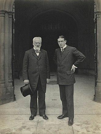 Edwin Pears - Sir Edwin Pears and Sir Ernest Henry Shackleton, 29 June 1909,  by Sir (John) Benjamin Stone