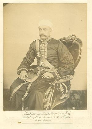 Mir Turab Ali Khan, Salar Jung I - The Nizam's indispensable Prime Minister, Sir Salar Jung