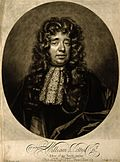 Portrait de William Petty en 1696.