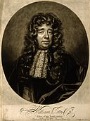 Sir William Petty. Mezzotint by J. Smith, 1696, after J. Clo Wellcome V0004638.jpg
