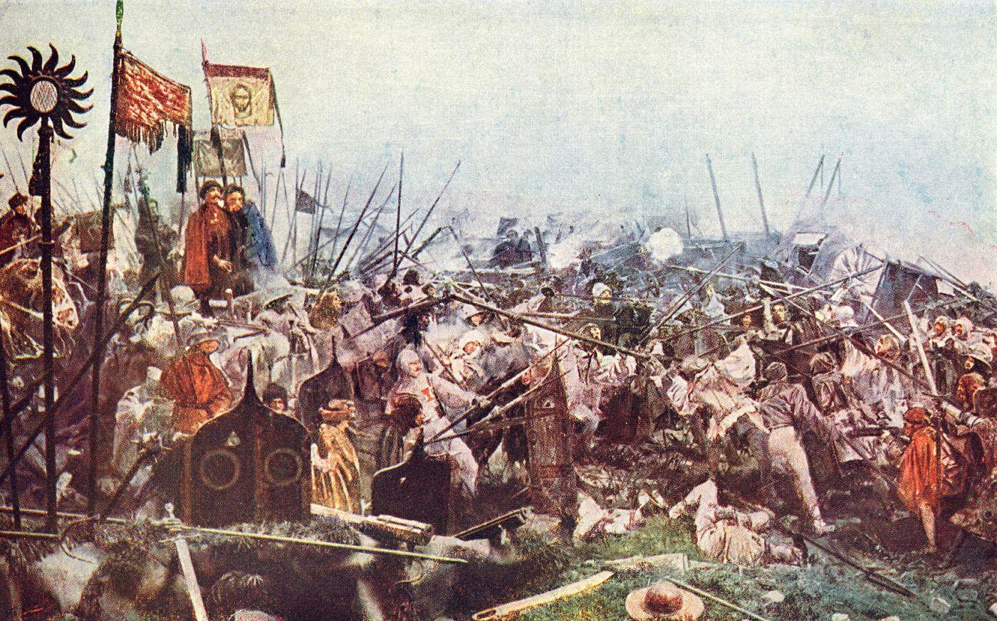 Bitva u Lipan (panoráma)