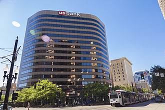 U.S. Bancorp - US Bank tower in Salt Lake City, Utah
