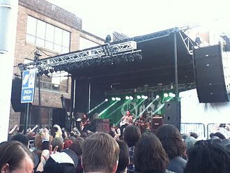 Maryland Deathfest - Sleep performing on the main outside stage.