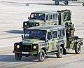 Sloboda 2019 - defile 10 - Land Rover Defender i robot Miloš 02.jpg