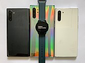 Samsung Galaxy Watch and smartphones