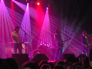 Final Straw Tour - Snow Patrol at the Roseland Ballroom on 20 May 2005.