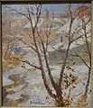 Snow Scene by Gari Melchers, after 1916, oil on canvas - Huntington Museum of Art - DSC05180.JPG