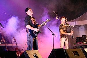 Soldat Louis - Aymon Folk Festival at Bogny-sur-Meuse in August 2004