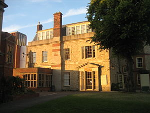 Somerville College, Oxford - House from the Quad