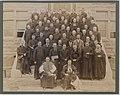 Son Excellence Mgr Merry Del Val, avec Monseigneur Joseph Medard Emard, Évêque de Valleyfield, ainsi que plusieurs prêtres (HS85-10-9186).jpg