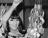 Cher en The Man From U.N.C.L.E. en marzo de 1967.