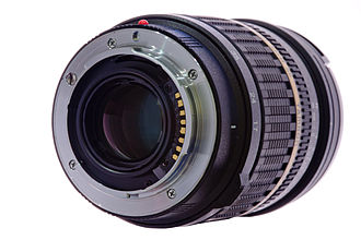 Sony α - The Sony A-mount on a Tamron SP 17-50mm F2.8.