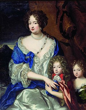Sophia Dorothea of Celle - Sophia Dorothea with her children