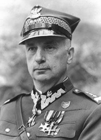 General Inspector of the Armed Forces - Image: Sosnkowski Kazimierz