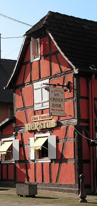 Souffelweyersheim - Image: Souffelweyersheim, house, Pict 6642