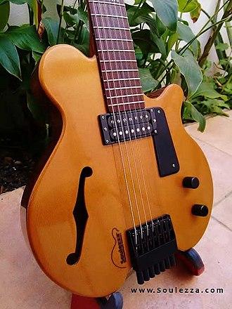 Seven-string guitar - Soulezza 7 String Guitar