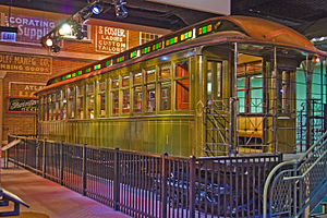Chicago History Museum - South Side Elevated Railroad car 1.