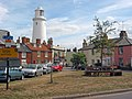 Southwold Lighthouse behind Sole Bay Inn - geograph.org.uk - 23293.jpg