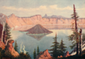Souvenir of Western Women 0008 Crater Lake.png