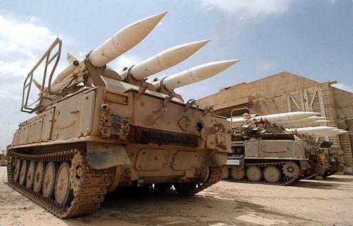 Soviet made Iraqi SA-6b Gainful
