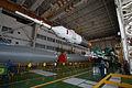 Soyuz TMA-10M rocket in the assembling facility (2).jpg