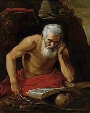St Jerome reading