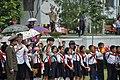 Spectators for North Korea military parade (15453044457).jpg