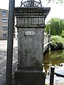 Spiegelnisserbrug - Crooswijk - Rotterdam - Number plate (in context).jpg