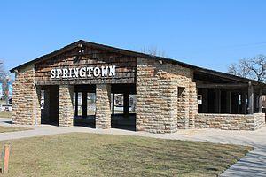 Springtown, Texas - Image: Springtown 2