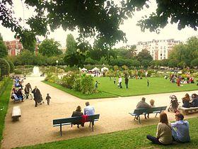 Square saint lambert wikip dia for Le jardin 75015