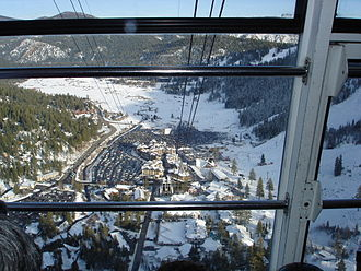 Sacramento metropolitan area - Squaw Valley, the site of the 1960 Winter Olympics
