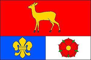 Srnín - Image: Srnín vlajka