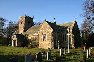 East Barkwith village in the United Kingdom