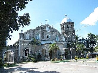Magalang, Pampanga - Façade of St. Bartholomew Parish Church