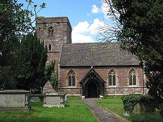 Bridstow village in United Kingdom