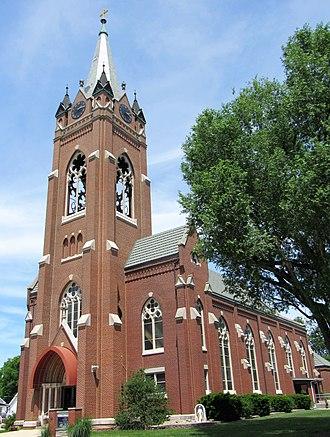 New Baden, Illinois - St. George Catholic Church