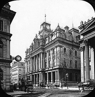 Saint Jacques Street - Image: St. James Street, Montreal, c.1895